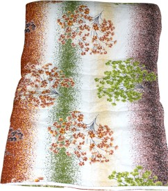 CocoBee Floral Single Quilts & Comforters Multi