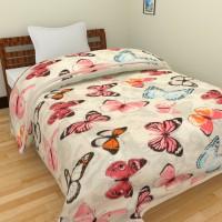 Ridan Printed Single Blanket, Dohar Multicolor