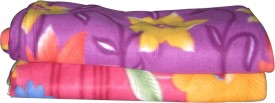 Spangle Abstract Double Blanket Multi Colour