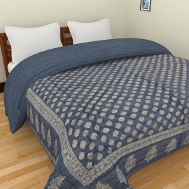 Spangle Printed Double Quilts & Comforters Multicolor