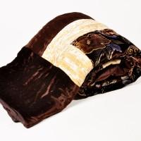 Little India Famous Jaipuri Single Bed Crushed Velvet Quilt 507 Modern Ethnic Quilt Single