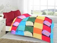 Fabutex Geometric Double Fleece Blanket Multicolor