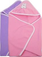 Utc Garments Plain Single Blanket Pink, Light Pink, Purple, White (2 Blankets)