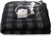 Winter Care Checkered Double Electric Blanket Multicolor, Electric Blanket With 1 Circular Regulator In Winter Care Branded Zip Bag