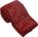 Little India Traditional Hand Block Cotton Double Bed Quilt Modern Ethnic Quilt - Double