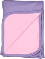 Morisons Baby Dreams Plain Single Hooded Baby Blanket Pink (Blanket)