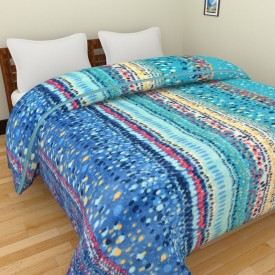 Spangle Geometric Double Blanket Multicolour