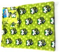 Moms Pet Animal Single Crib Baby Blanket Green (1 Moms Pet Mink Blanket)