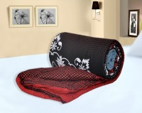 Bagru Crafts Geometric Single Quilts & Comforters Red, Quilt