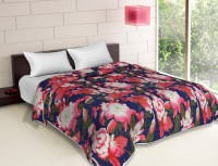 The Home Story Floral Double Dohar Multicolor 1 Ac Blanket