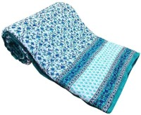 Krg Enterprises Floral Single Blanket Multicolor Jaipuri Quilt Single Bed Razai - BLAEDNYHBWVPCSQY