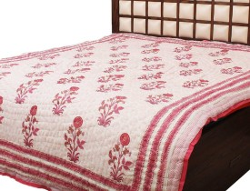 Tradition India Floral Double Quilts & Comforters Multicolor