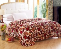 Home Originals Floral Double Coral Blanket Vintage Floral