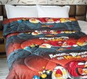 Snuggle Angry Birds Print Solace Comforter - Single
