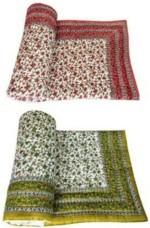 N Decor N Decor Floral Single Quilts & Comforters Multicolor