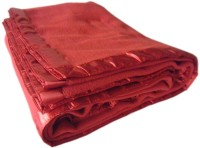 PHF India Plain Single Blanket Red Fleece Blanket, 1 Blanket