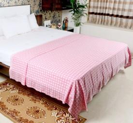 Mosgard Geometric Single Blanket Pink