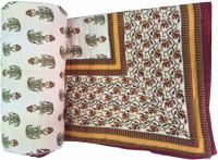 Unnati Enterprises Printed Single Quilts & Comforters Green Red Flower 1 Quilt