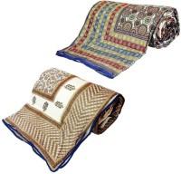 Home India Self Design Double Comforter Multicolor