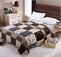 Home Originals Abstract Double Blanket Multi Color Coral Blanket, 1 Blanket