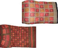 Rangasthali Combo Of 2 Jaipuri Print Bed Razai Printed Double Blanket (100% Cotton)