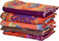 Peponi Floral Double Blanket Multicolor AC Blanket, 5 Blankets