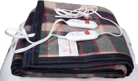 Comfort Checkered Double Electric Blanket Multicolor, Electric Blanket With 2 Light Fitted Regulators And Warranty Card