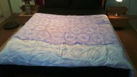 Jojo Designs Graphic Double Quilt Lavender