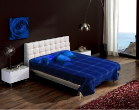 Raymond Abstract Single Blanket Blue
