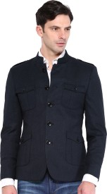 Protext Solid Single Breasted Casual Men's Blazer