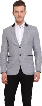 Ennoble Houndstooth Single Breasted Casual Men's Blazer