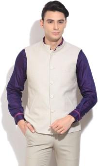 Peter England Solid Formal Men's Blazer