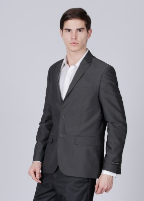 John Players Striped Formal Men's Blazer