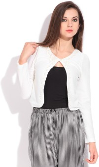 Only Solid Casual Women Blazer