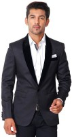 Brizio Solid Tuxedo Style Casual, Party, Festive, Wedding Men's Blazer