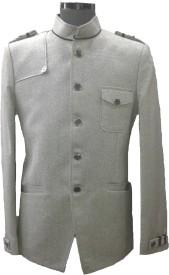 BACHELORS N BEYOND Self Design Single Breasted Festive, Festive, Casual Men's Blazer