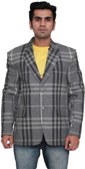 Indian Heritage Striped Single Breasted Casual Men's Blazer
