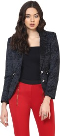 Yepme Solid Single Breasted Party Women's Blazer