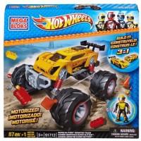 Mega Bloks Hot Wheels Super Blitzen Monster Truck (Multicolor)