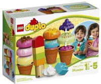 LEGO DUPLO Creative Play 10574 Creative Ice Cream (Multicolor)