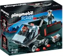 Playmobil Dark Rangers Truck Construction Set With Ir Knockout Cannon - Multicolor