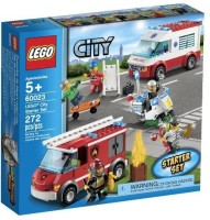 LEGO City 60023 Starter Toy Building Set (Multicolor)