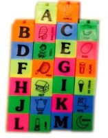 Rahul Toys Abcd Blocks With Different Pictures For Kids (Multicolor)