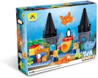Toys Bhoomi Underwater Sea World Building Block Set - 41 Pieces (Multicolor)