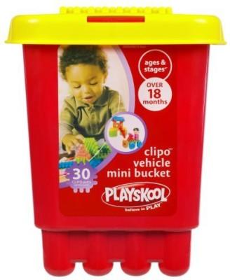 Hasbro Blocks & Building Sets Hasbro Playskool Clipo Vehicle Mini Bucket