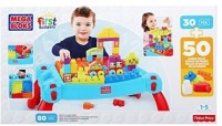 Fisher Price First Builders Build N Learn Table (Multicolor)
