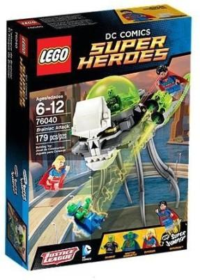 Lego Blocks & Building Sets Lego Brainiac Attack