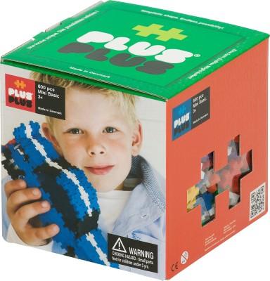 Plus Plus Blocks & Building Sets Plus Plus Mini Building Blocks Basic Colors