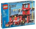 Lego City Fire Station - Red, Black