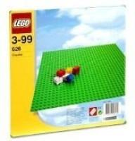 Lego Base 32 X 32 Stud Building Plate 10 X 10 Platform (Green)